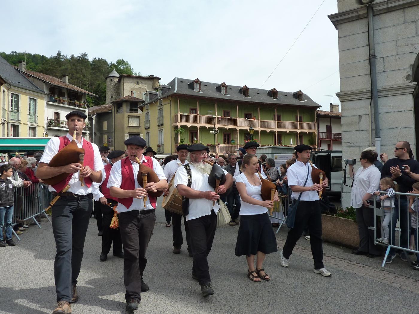 Groupe de musique de rue du COMDT