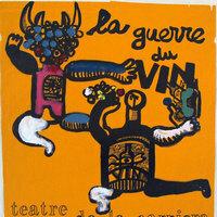 La guerre du vin / Teatre de la Carrièra = Théâtre populaire occitan ; impr. Dehan ; [dessin de Pierre François]